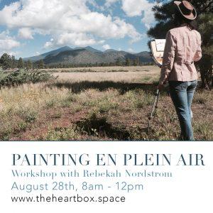Painting en Plein Air Workshop with Rebekah Nordstrom