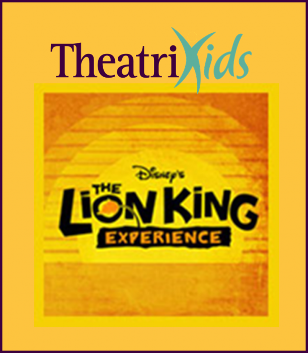 TheatriKids Summer Camp 1--Lion King Experience A