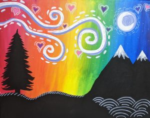 Paint the Town with Creative Spirits and Mother Road - June 2021 - Starry Night Pride