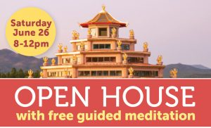 Open House with free guided meditation