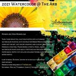 2021 Watercolor @ The Arb