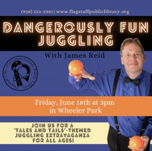 Dangerously fun Juggling with James Reid