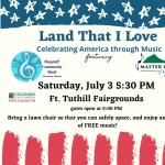 Land That I Love, Celebrating America Through Music Ft. Tuthill Concert