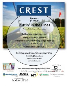 Puttin' in the Pines Golf Tournament
