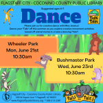 Dance with Jessica at Bushmaster Park