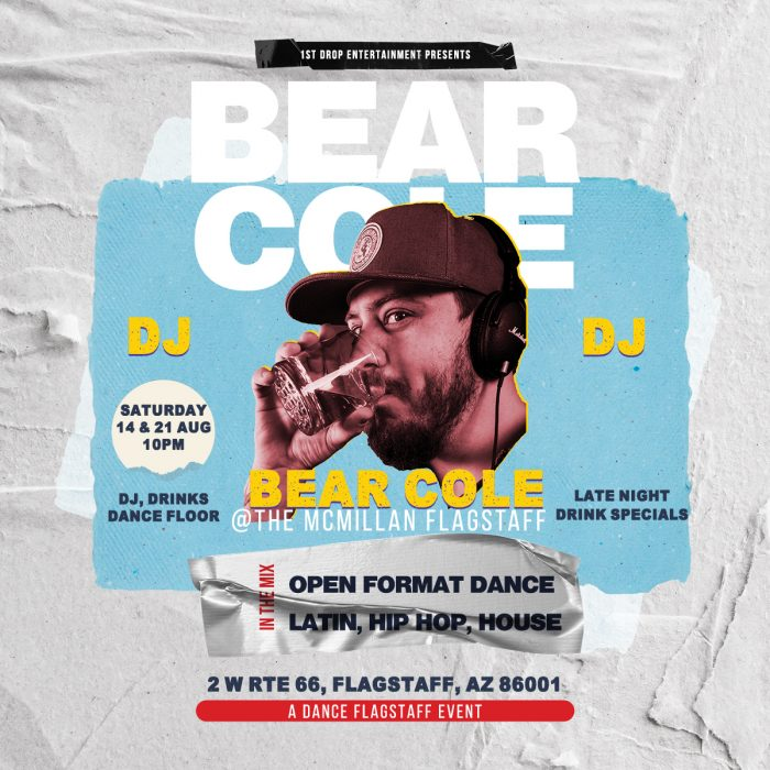 No Cover! Bear Cole at The McMillan Dance Flagstaf...