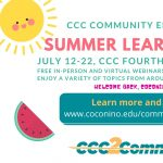 CCC Summer Learning Series