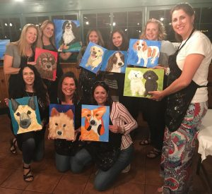 August 2021 Pet Portrait Night at Creative Spirits...