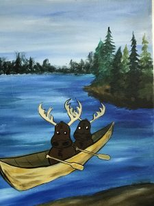 August 2021 Creative Spirits Paint Night at Mother Road