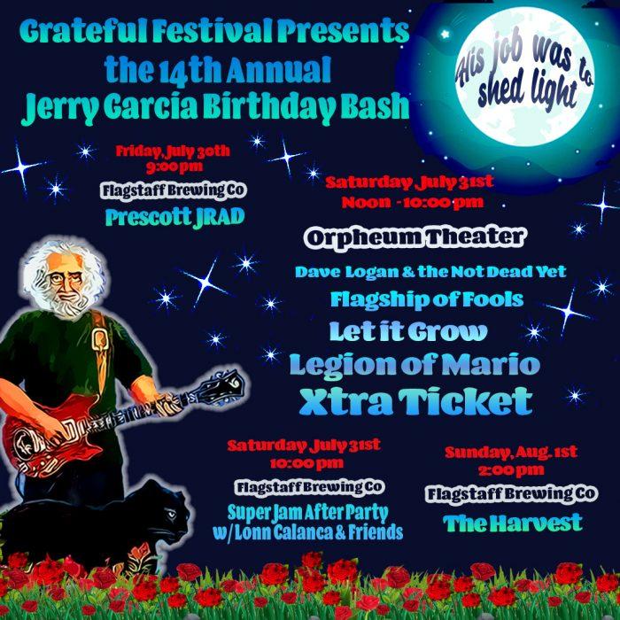 The 14th Annual Jerry Garcia Birthday Bash