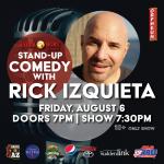 A Night of Live Comedy with Rick Izquieta