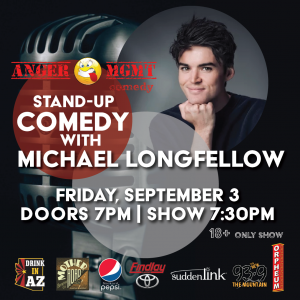 Stand-up Comedy with Michael Longfellow LIVE at the Orpheum Theater
