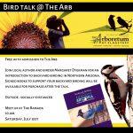 Bird Talk with Margaret Dyekman