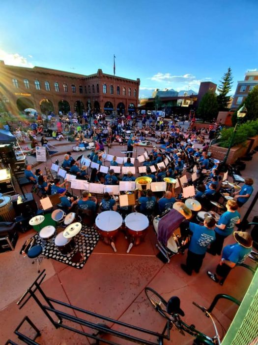 Friday Night on Heritage Square with Flagstaff Com...