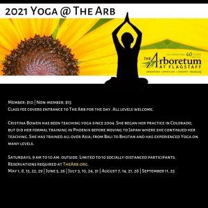 Yoga @ The Arb