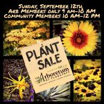 Arb Fall Plant Sale