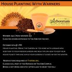 House Planting with Warner's @ The Arb