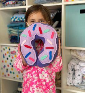Donut Neck Pillow Kids Workshop