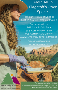 Plein Air Demonstration at Picture Canyon!