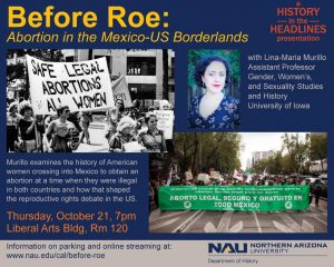 Before Roe: Abortion in the Mexico-U.S. Borderland...