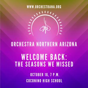Orchestra Northern Arizona Season Premiere