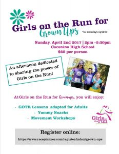 Girls on the Run for Grown Ups