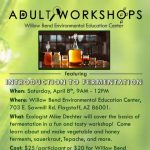 Adult Workshop: Introduction to Fermentation