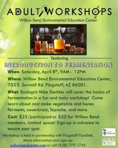 Adult Workshop: Introduction to Fermentation