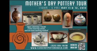 Mother's Day Weekend Pottery Tour