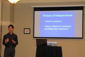 Get Vocal to Support Local! Independent Business Workshop
