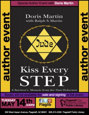 Kiss Every Step Author Event