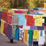 The Clothesline Project Art Installation