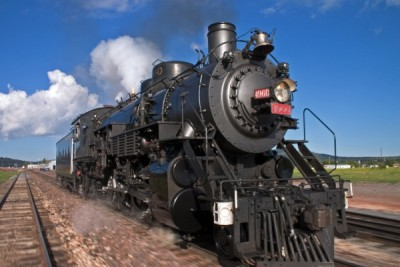 Grand Canyon Railway Steam-Powered Train