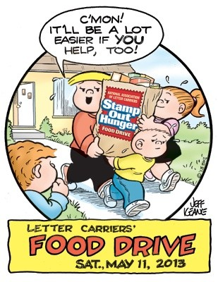 21st Annual Letter Carriers Food Drive
