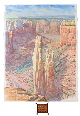 Tony Foster -- Sacred Places: Watercolour Diaries of the American Southwest