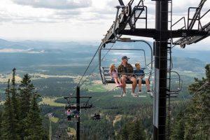 Scenic Chairlift Rides at Arizona Snowbowl