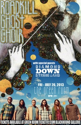 Roadkill Ghost Choir w/Diamond Down String Band