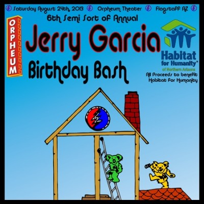 Jerry Garcia Birthday Bash