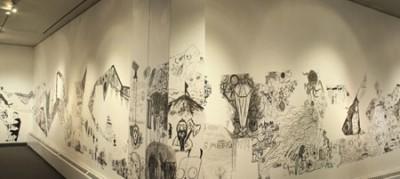 Wall Draw Show IV Closing Reception