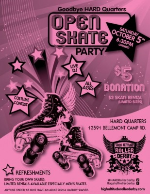 Open Skate Party!