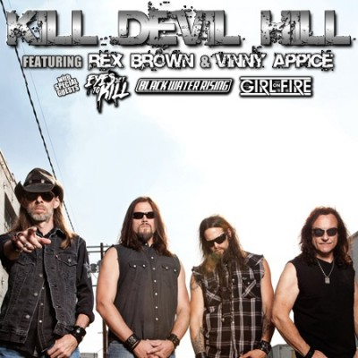 KILL DEVIL HILL F/ Rex Brown & Vinny Appice