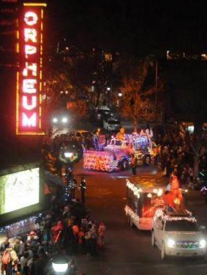 Northern Lights Holiday Parade