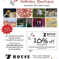Artists Holiday Boutique