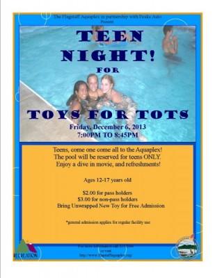 Teen Night Pool Party