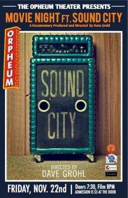 Movie Night ft. 'Sound City'