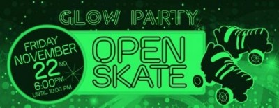 Open Skate Glow Party