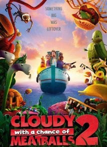 Movies on the Square: Cloudy with a Chance of Meatballs 2