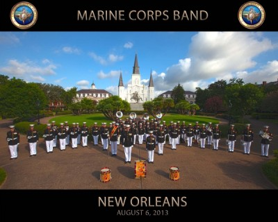 Marine Corps Band New Orleans Concert