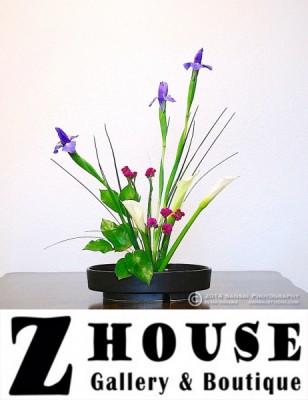 Art in Full Bloom at Z House Gallery