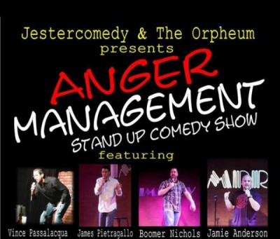 Anger Management Stand-Up Comedy Show